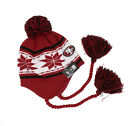 NEW ERA Men Adult San Francisco 49ers Snowflake Beanie Hat Tassel Knit Pom Cap $15.0 USD on eBay
