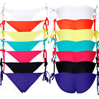 Sexy Beach Womens Bikini teeny-tiny Brazilian shape Side Tie Itsy Bottom S-XL FO