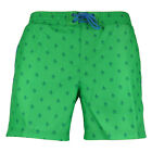 Mens Original Penguin Printed Penguin Blarney Elasticated Swim Shorts