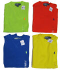 RL Polo Ralph Lauren Mens Pony Logo Cotton Knit Crew Neck LS Fall Spring Sweater