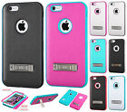 For Apple iPhone 6 6S Plus IMPACT Verge HYBRID Kickstand Case Skin Phone Cover