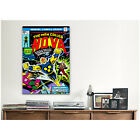 iCanvas Marvel Comic Book Nova Issue Issue Cover 1 Canvas Print Wall Art