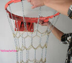 Heavy Duty Metal Chain Link Zinc Steel Basketball Net Hook Standard 12 Loop