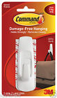 3M™Command Utility Large Hook White Up to 2.2kg Christmas Wreaths Removable