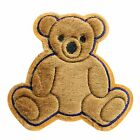 "6.5""x 6.5"" Brown Furry Kaylee Firefly Teddy Bear Plush Sew On Appliques Patches"