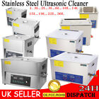 Digital Stainless Steel Ultrasonic Ultra Cleaner Bath with Tank  Timer & Heater