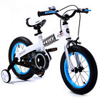 "ROYAL BABY BUTTONS FREESTYLE BMX KIDS BIKES IN 12 COLOURS - IN SIZE 12"" 14"" 16""."