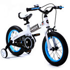 """ROYAL BABY BUTTONS FREESTYLE BMX KIDS BIKES IN 12 COLOURS - IN SIZE 12"""" 14"""" 16""""."""
