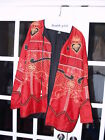 JA Resort - Silk Top Red Festive Jacket-Medium