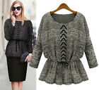 New Promotion!!! Women's Slim Fit Batwing Sleeve Pullover Knitting Sweater Tops