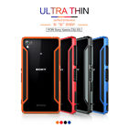 For Sony Xperia Z3 L55 Nillkin Shockproof Case Border Armor Bumper Frame Cover