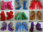 40 Style High Heel Boots Shoes Original Monster High Doll Accessories New Outfit