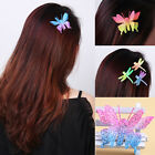 Womens Beauty Sequins Butterfly Dragonfly Barrette Hairpin Hair Clip Accessories