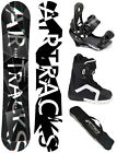 SNOWBOARD SET AIRTRACKS REFRACTIONS GAME WIDE+BINDUNG+BOOTS+BAG/ 159 165 168 171