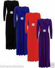 Ladies Christmas Maxi Evening Dresses Bridesmaid Formal Wedding Dress Plus Sizes