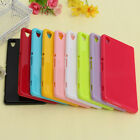 TPU Gel Silicone Thin Slim Plain Glossy Soft Back Case Cover for Sony Xperia Z3