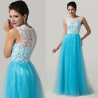 ◆CHEAP MONDAY◆ Sweet Long Lace Cocktail Bridesmaid Evening Prom Club Party Dress