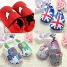 Baby Newborn Boy Girl Toddler Infant Shoes Soft Sole Cotton Anti-slip Animal New