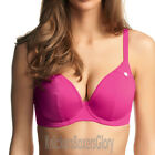 Freya Swimwear Fever Underwired Plunge Bikini Top Magenta NEW 3328 Select Size