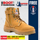 Steel Blue 'Argyle' 312152 Work Boots. Steel Toe Cap Safety. Zip. 100% COMFORT