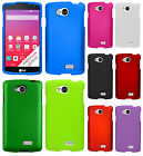 For MetroPCS LG Optimus F60 Rubberized HARD Protector Case Phone Cover Accessory