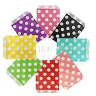 25pcs Retro Dot Polka Wedding Party Paper Bags Sweets Candy Popcorn Favour Gift