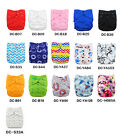 Alva Reusable Waterproof PUL Baby Cloth Diaper Nappy Cover Double Gussets Lot