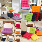 Square Handmade Soft Dining Chair Seat Pad Filled Ties Cushion Decor 40x40cm