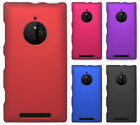For AT&T Nokia Lumia 830 Rubberized HARD Protector Case Snap On Phone Cover