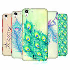 HEAD CASE DESIGNS PEACOCK FEATHERS CASE COVER FOR HTC DESIRE EYE LTE