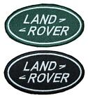"Land Rover Logo Embroidered Patch Badge Sew /Iron-on 4"" Green or Black Landrover"