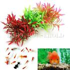 Artificial Plastic Underwater Plant Flower Leaf Fish Tank Aquarium Decoration