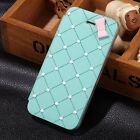 Luxury Cute 3D Bow Pearl PU Leather Flip Hard Case Cover For iPhone 4/4S/5/5S