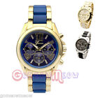 40mm Mens Gold/Silver-tone Selected Analog Quartz Wrist Watch,Chronograph Style