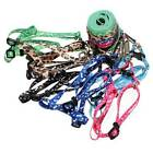 5 Colors Bone Paws Print Rope Small Pet Dog Cat Lead Leash Harness Assorted