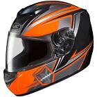 HJC CS-R2 Seca Neon Orange Black MC-6 Full Face Motorcycle Riding Helmet