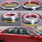 Car Styling Moulding Strip Trim Self Adhesive Protecter Decal Chrome Styling Van