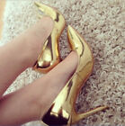 Womens Sexy Gladitor Celeb Style Court Pointed Toe High Heel Pumps Party Shoes