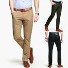 Luxury Men's Stylish Casual Long Pants Formal Suit Dress Trousers Bottoms Pant