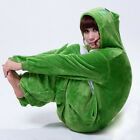 UK Stock Unisex Frog Animal Onesie Kigurumi Cosplay Hoodies Pyjamas Sleepwear