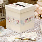 With Love Design Wedding Wishes Guest Post Box with 50 Matching Message Cards