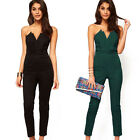 2015 Women Sexy Fashion Clubwear Long Homecoming Party Jumpsuits Romper Bodysuit