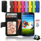 Premium Flip Leather Wallet Card Case Cover for Samsung Galaxy S3 4G i9300 i9305