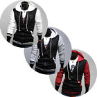 BEST Mens Cool Casual College Style Warmer Hoodies Classic Fitted Coats Jackets