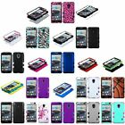 Heavy Duty Hybrid Silicone Hard Impact Case Cover for LG Optimus F6 MS500 D500