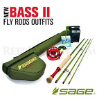 NEW - Sage Bluegill Bass II Fly Rod Outfit - FREE SHIPPING!