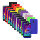 Silicone Soft Slim Rubber Gel Case Cover Skin for Android Samsung Galaxy Note 4