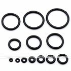 100x Black Rubber Replacement O-Rings For Plugs Stretcher Taper Piercing Finding