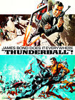 Thunderball - 1965 - Movie Poster $32.99 USD on eBay
