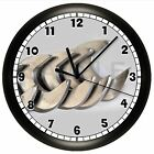 WORKSHOP WALL CLOCK PERSONALIZED GIFT DECOR GARAGE DAD CARPENTER BODY SHOP